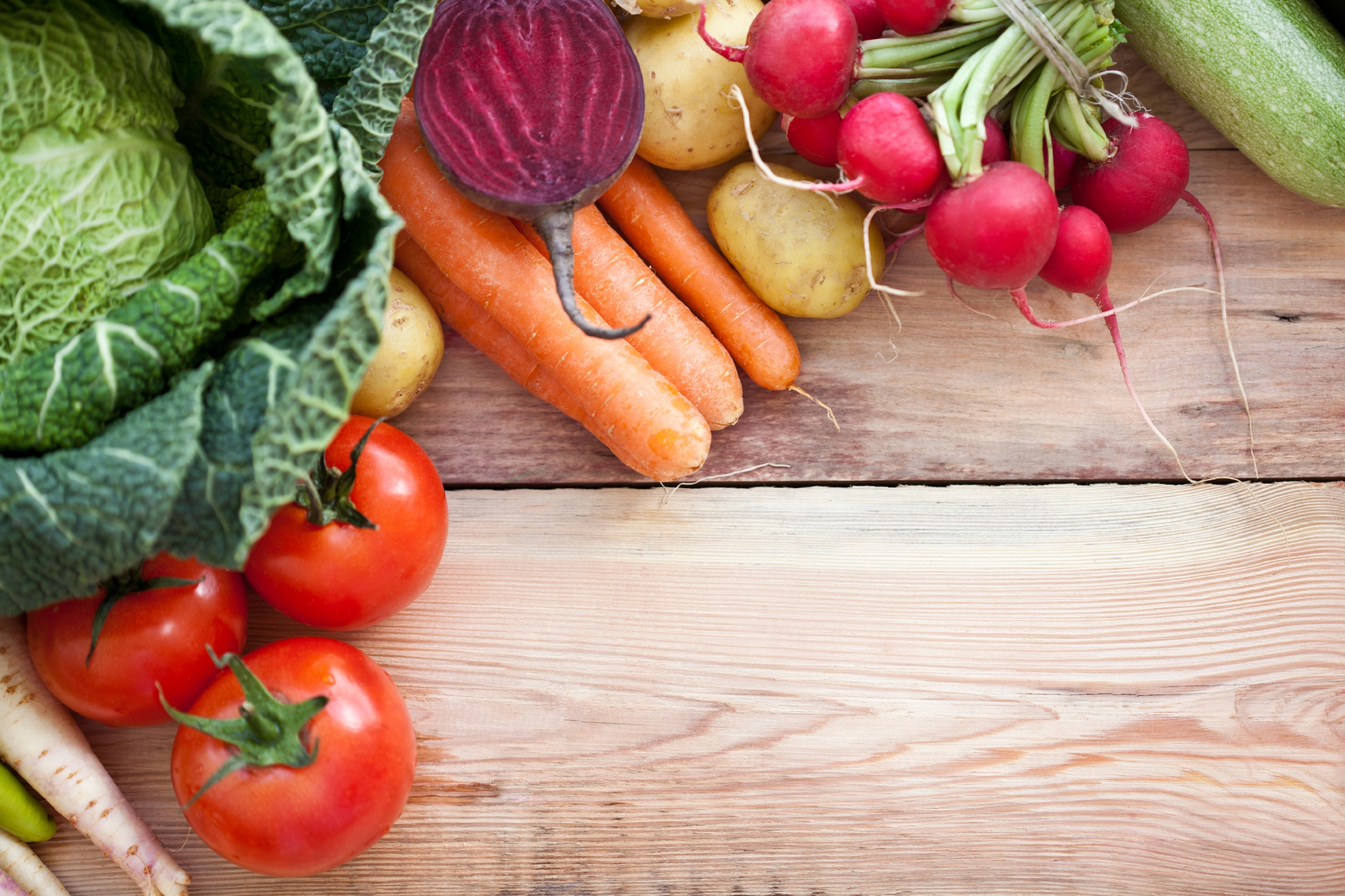 Vegetable background